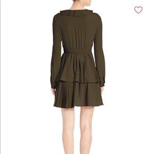 No. 21 Dresses - FLASH SALE!! No. 21 Olive Green Tiered Dress